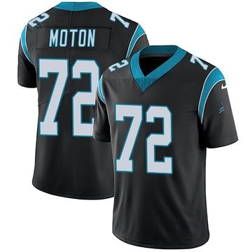Youth Nike Carolina Panthers Taylor Moton Black Team Color Vapor Untouchable Jersey - Limited
