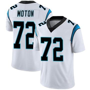 Youth Nike Carolina Panthers Taylor Moton White Vapor Untouchable Jersey - Limited