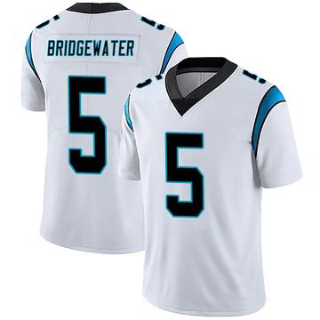 Youth Nike Carolina Panthers Teddy Bridgewater White Vapor Untouchable Jersey - Limited