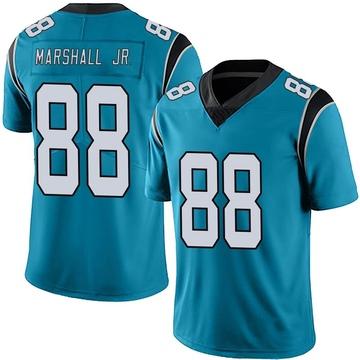 Youth Nike Carolina Panthers Terrace Marshall Jr. Blue Alternate Vapor Untouchable Jersey - Limited