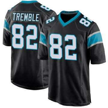 Youth Nike Carolina Panthers Tommy Tremble Black Team Color Jersey - Game