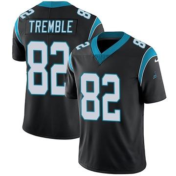 Youth Nike Carolina Panthers Tommy Tremble Black Team Color Vapor Untouchable Jersey - Limited