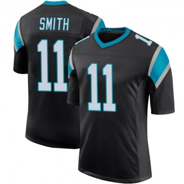 Youth Nike Carolina Panthers Torrey Smith Black Team Color 100th Vapor Untouchable Jersey - Limited