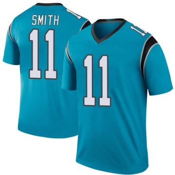 Youth Nike Carolina Panthers Torrey Smith Blue Color Rush Jersey - Legend