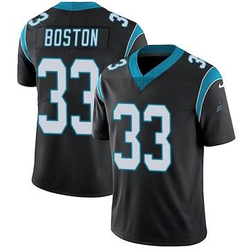 Youth Nike Carolina Panthers Tre Boston Black Team Color Vapor Untouchable Jersey - Limited