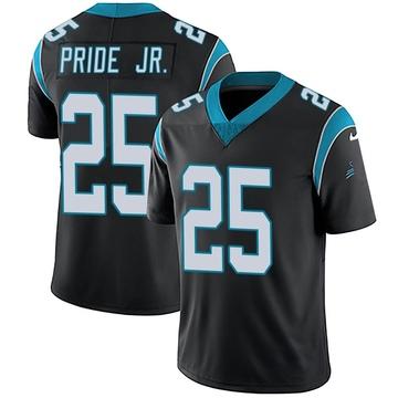 Youth Nike Carolina Panthers Troy Pride Jr. Black Team Color Vapor Untouchable Jersey - Limited