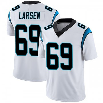 Youth Nike Carolina Panthers Tyler Larsen White Vapor Untouchable Jersey - Limited