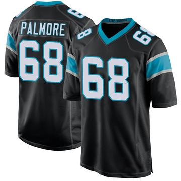 Youth Nike Carolina Panthers Walter Palmore Black Team Color Jersey - Game