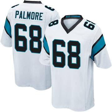 Youth Nike Carolina Panthers Walter Palmore White Jersey - Game