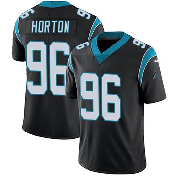 Youth Nike Carolina Panthers Wes Horton Black Team Color Vapor Untouchable Jersey - Limited