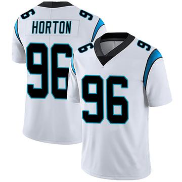 Youth Nike Carolina Panthers Wes Horton White Vapor Untouchable Jersey - Limited